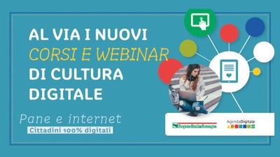 Pane e Internet: al via i nuovi corsi e webinar