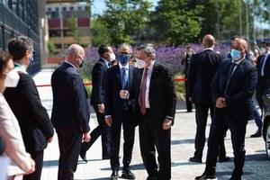 Il presidente Draghi al Tecnopolo di Bologna: nella Data Valley dell'Emilia-Romagna il grande potenziale del Paese