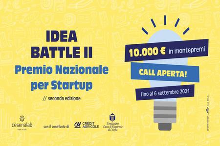 IDEA BATTLE II, al via la seconda edizione del Premio Nazionale per Startup